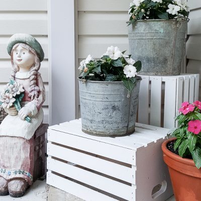Summer Front Porch Revamp