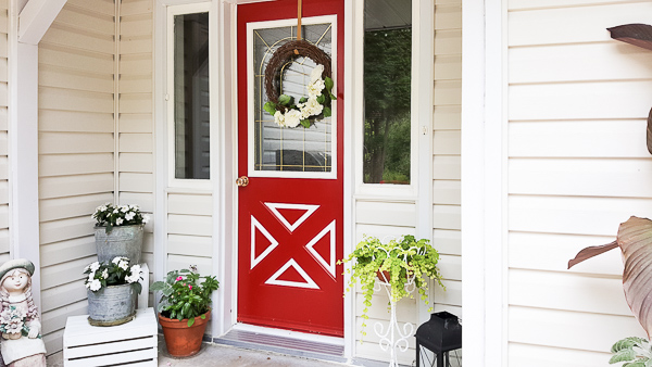 Home Decor Blog - Summer Front Porch Revamp
