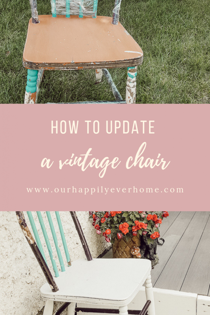 How to Update a vintage chair