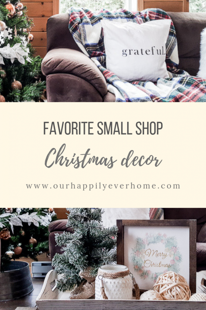 Favorite Small shop Christmas decor