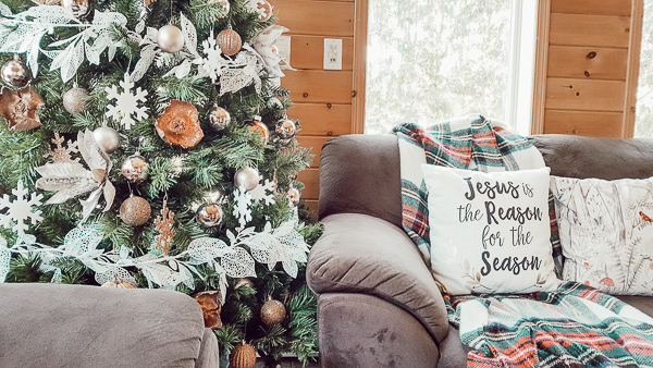 Cozy Sunroom Christmas Home Tour