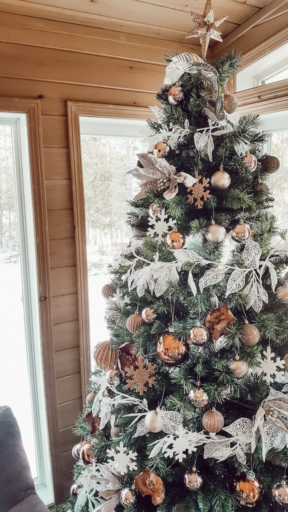 Cozy Sunroom Christmas Tree