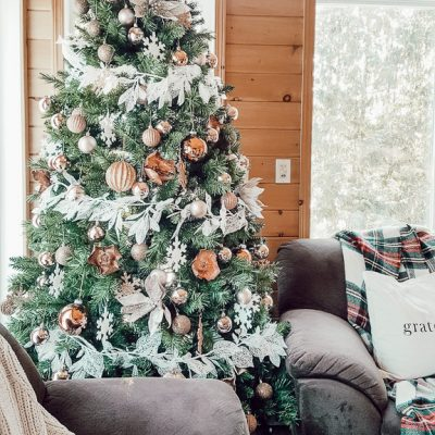 Cozy Christmas Home Tour Part 2 – The Sunroom