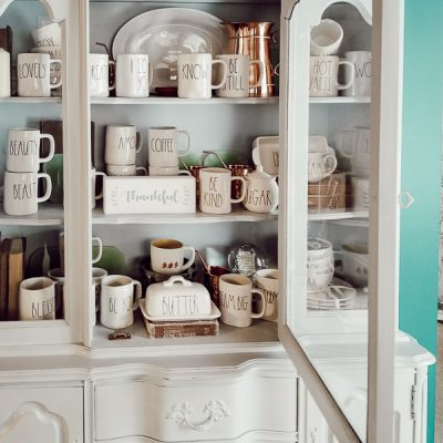 How To Decorate a Hutch