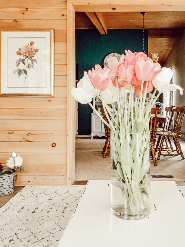 sunroom spring home tour
