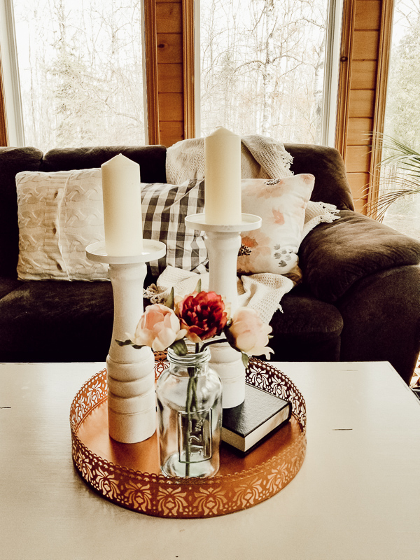 Wayfair-Inspired DIY Wooden Candlesticks