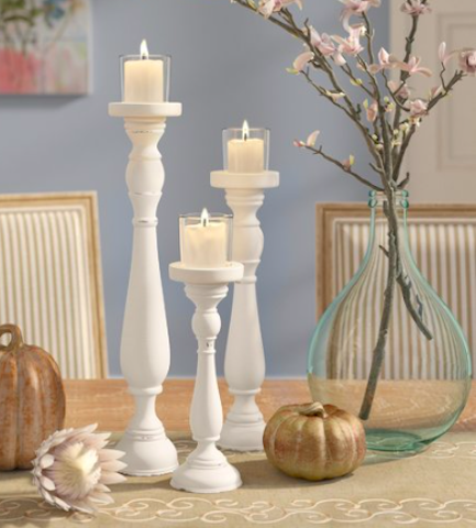 Wayfair DIY candlesticks