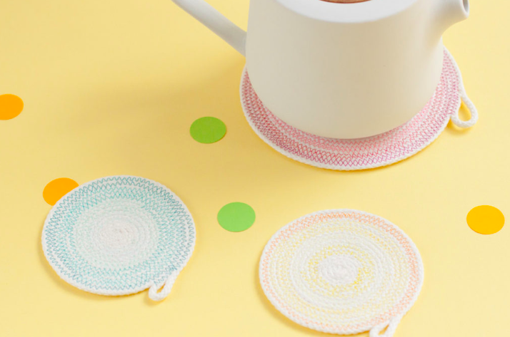make your own ombre coasters