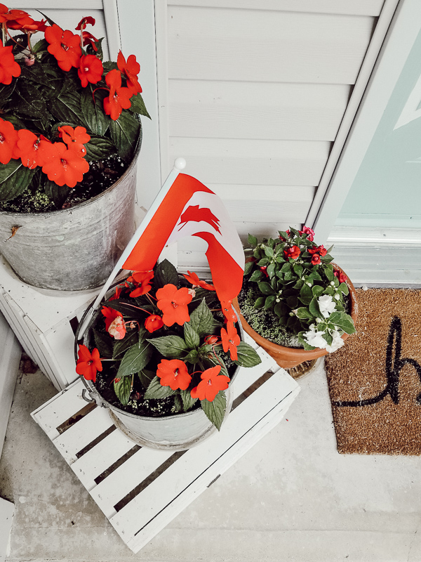 Canada Day Decor Ideas - Our Happily Ever Home on Backyard Decor Canada id=63682