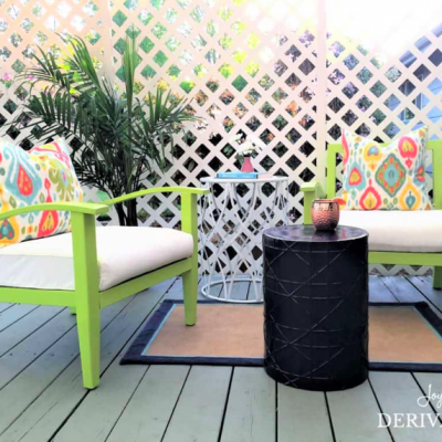Summer Outdoor Patio Ideas on a Budget