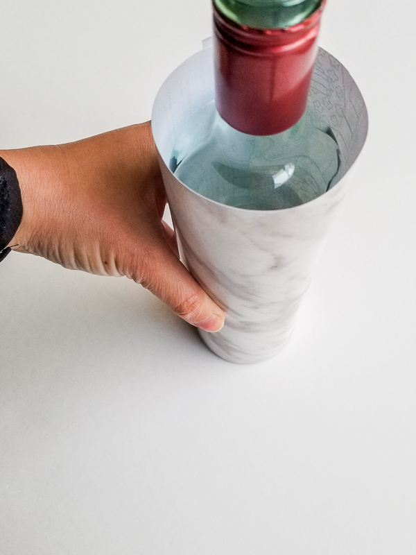 Wine Bottle Upcycle
