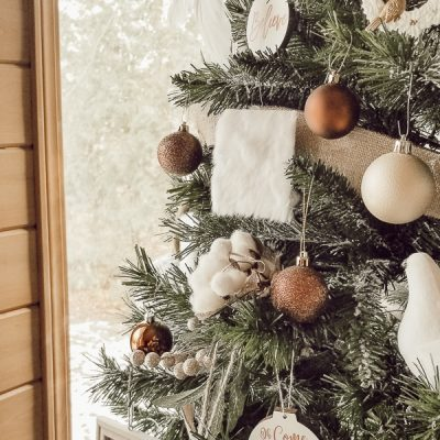 DIY Faux Fur Ornaments
