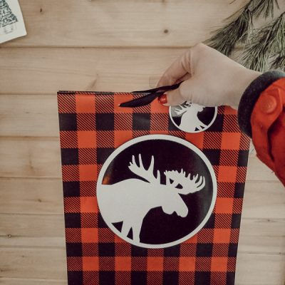 Christmas Gift Bag DIY